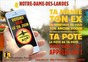 consultation NDDL Confédération Paysane